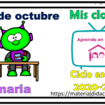 Aprende en casa II mis clases para primaria del 20 de octubre del ciclo escolar 2020 – 2021