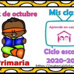 Aprende en casa II mis clases para primaria del 22 de octubre del ciclo escolar 2020 – 2021