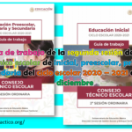 Guía de trabajo de la segunda sesión del consejo técnico escolar de inicial, preescolar, primaria y secundaria del ciclo escolar 2020 – 2021 del mes de diciembre