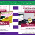 Guía de trabajo de la cuarta sesión ordinaria del consejo técnico escolar de inicial, preescolar, primaria y secundaria del ciclo escolar 2020 – 2021 del mes de enero