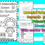 Material interactivo del segundo grado del mes de marzo del ciclo escolar 2020 – 2021