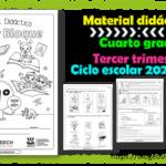 Material didáctico del cuarto grado del tercer trimestre para el ciclo escolar 2020 – 2021