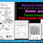 Material didáctico del quinto grado del tercer trimestre para el ciclo escolar 2020 – 2021