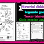 Material didáctico del segundo grado del tercer trimestre para el ciclo escolar 2020 – 2021