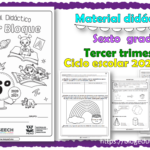 Material didáctico del sexto grado del tercer trimestre para el ciclo escolar 2020 – 2021