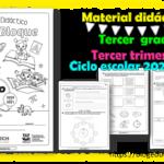 Material didáctico del tercer grado del tercer trimestre para el ciclo escolar 2020 – 2021