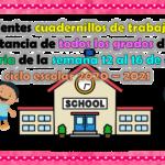 Excelentes cuadernillos de trabajo a distancia de todos los grados de primaria de la semana 12 al 16 de abril ciclo escolar 2020 – 2021