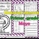 Material interactivo del primer grado del mes de mayo del ciclo escolar 2020 – 2021