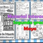 Material interactivo del segundo grado del mes de mayo del ciclo escolar 2020 – 2021