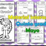 Material interactivo del quinto grado del mes de mayo del ciclo escolar 2020 – 2021