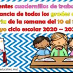 Excelentes cuadernillos de trabajo a distancia de todos los grados de primaria de la semana 10 al 14 de mayo  ciclo escolar 2020 – 2021