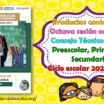 Productos contestados de la octava sesión ordinaria del consejo técnico escolar de preescolar, primaria y secundaria del ciclo escolar 2020 – 2021