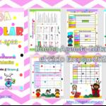 Bonita Agenda Escolar Para el Ciclo Escolar 2021-2022