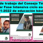 Guías de trabajo del Consejo Técnico Escolar Fase Intensiva ciclo escolar 2021-2022 de educación básica