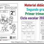 Fabuloso Material Didáctico para el segundo grado de primaria del primer trimestre del ciclo escolar 2021 – 2022