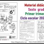 Fabuloso Material Didáctico para el sexto grado de primaria del primer trimestre del ciclo escolar 2021 – 2022
