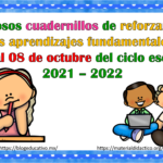 Fabulosos cuadernillos de reforzamiento de los aprendizajes fundamentales del 04 al 08 de octubre del ciclo escolar 2021 – 2022
